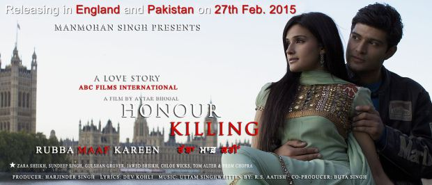 Zara Sheikh back on the big screen with Honour Killing's