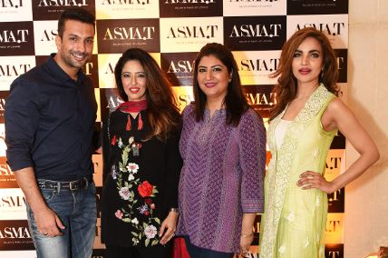 Sneak preview of asma t dha salon launch iftari event for Asma t salon lahore