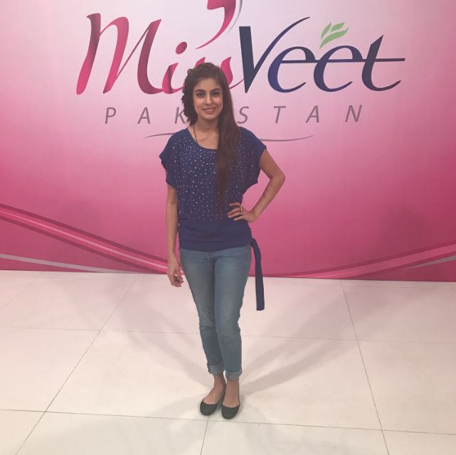 zainab raja from islamabad crowned as miss veet pakistan