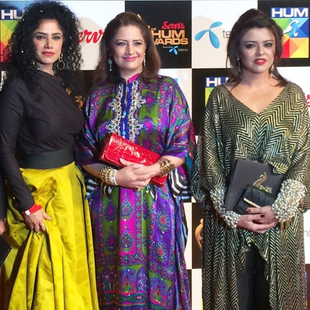 3rd Hum Awards, Red Carpet Moments from Dubai