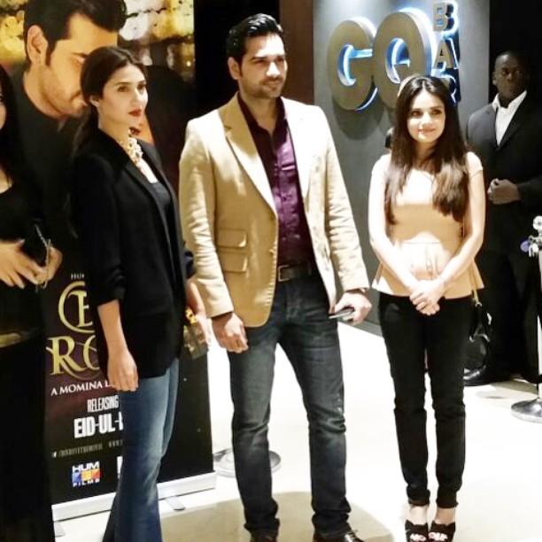 Bin Roye Movie Music Launch at VOX cinema Dubai