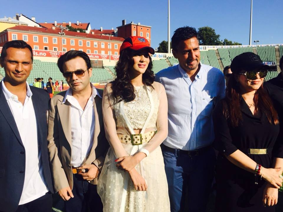 Glimpses from Play for Peace, Cricket Match held in Oslo