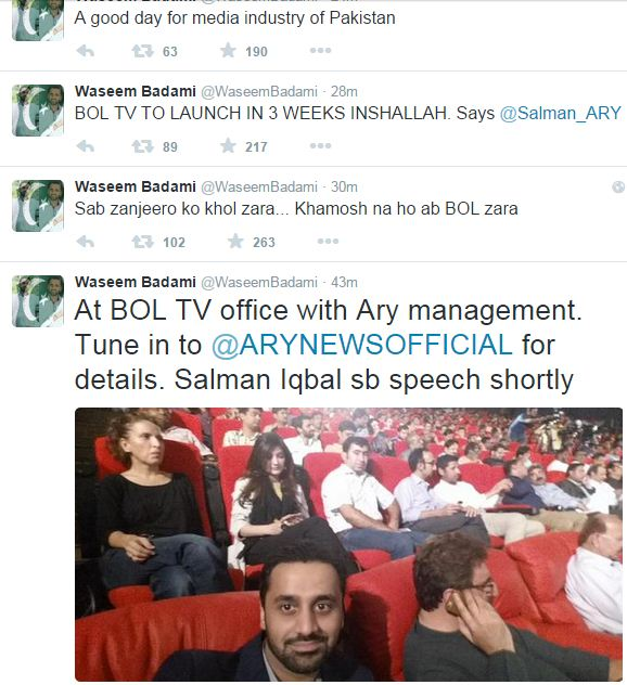 ARY takes over BOL TV
