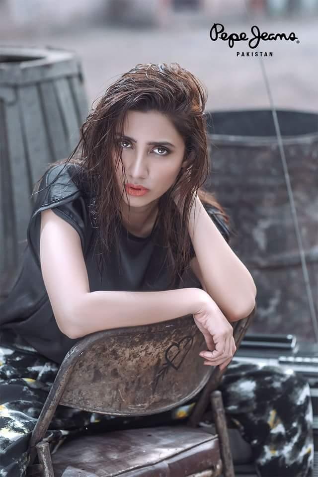 Mahira Khan's photoshoot for Pepe Jeans London