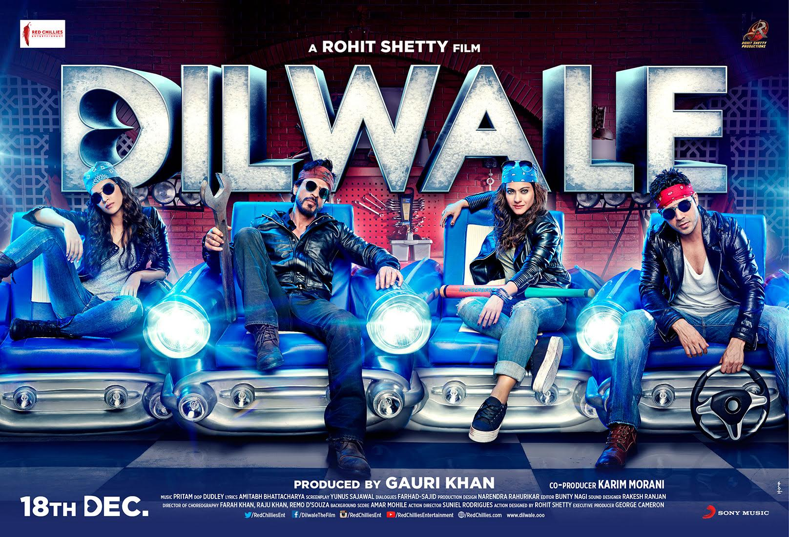 Hum Films to release the most anticipated movie of the year Dilwale in Pakistan