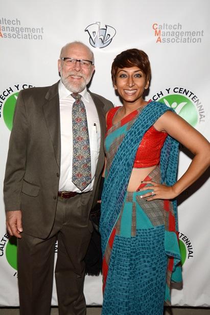 Director Iram Parveen Bilal with Actor K. Zachary Abbott (1367x2048)