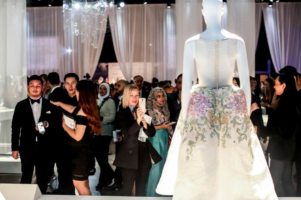 Swarovski Sparkling Couture Exhibition opens up in Dubai