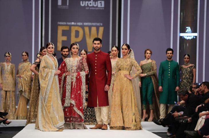 Sneak Preview of Day 1 at Fashion Pakistan Week Winter Festive 2016
