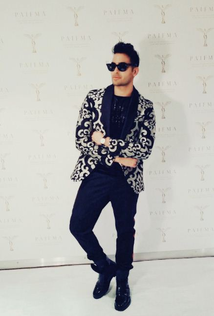 Abbas Hasan Shows Off His Rockstar Style On White Carpet As Ambassador For PAIFMA in China